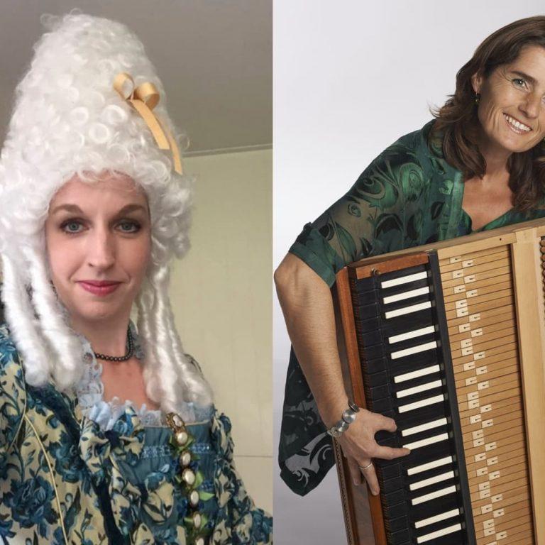 sopraan Wendy Roobol & Camerata 1800 spelen Mozarts Mooie Meiden,  13 november 2021 13:30 uur
